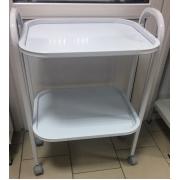 Стол медицинский 2-х полочный (распродажа)