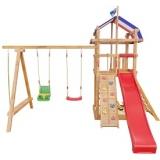 Детские деревянные игровые площадки