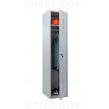 Металлический шкаф для одежды ПРАКТИК LS-01-40