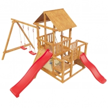 Детская игровая площадка Сибирика с 2-мя горками