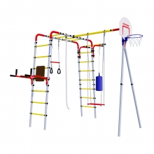 Детский спортивный комплекс для дачи ROMANA Fitness (фанерные качели)