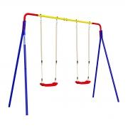 Детский спортивный комплекс для дачи ROMANA Качели двойные (пластиковые качели)