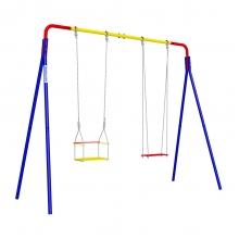 Детский спортивный комплекс для дачи ROMANA Качели двойные (фанерные качели)