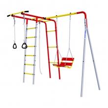 Детский спортивный комплекс для дачи ROMANA Лесная поляна-2 (цепные качели)