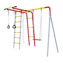 Детский спортивный комплекс для дачи ROMANA Лесная поляна-2 (фанерные качели)