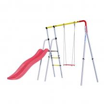 Детский спортивный комплекс для дачи ROMANA Лето (фанерные качели)