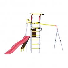 Детский спортивный комплекс для дачи ROMANA Островок Плюс (без качелей)