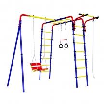 Детский спортивный комплекс для дачи ROMANA Веселая лужайка - 2 (цепные качели)