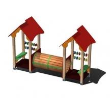 Домики игровые  с тоннелем