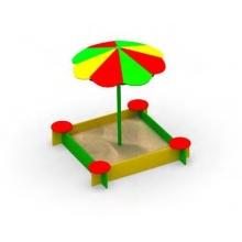 """Песочница """"Капитошка с зонтом"""""""
