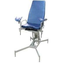 Кресло гинекологическое с регулировкой высоты на гидроприводе МСК-411