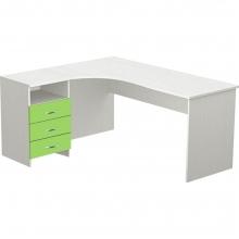 Стол угловой с ящиками М147-023