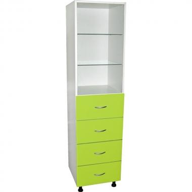Медицинский шкаф с ящиками М202-022  в Краснодаре