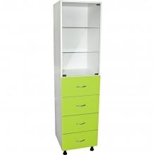Медицинский шкаф с ящиками М202-024