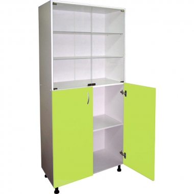 Двухстворчатый медицинский шкаф М202-034  в Краснодаре