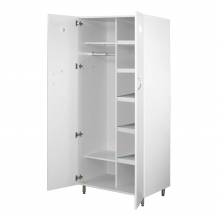 Шкаф медицинский для спецодежды ШМСО-01 «ЕЛАТ» (мод. 6)