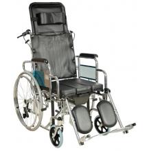 Кресло-коляска механическая FS204BJG (MK-C010-46 с ручным тормозом)/(MK-C011-46 без ручного тормоза)
