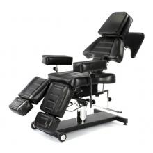 КО-214 ЭЙФОРИЯ ТАТУ кресло механическое с возможностью поворота 360гр c подставкой в комплекте