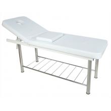 Стационарный массажный стол стальной FIX-MT1 (МСТ-38)