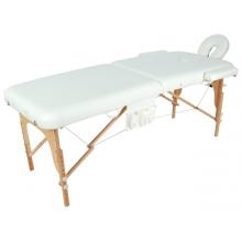 Массажный стол складной деревянный JF-AY01 2-х секционный (МСТ-003Л)