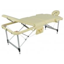 Массажный стол складной алюминиевый JFAL01A М/К (3-х секционный) (МСТ-102Л)