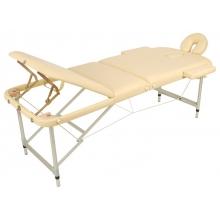 Массажный стол складной алюминиевый JFAL03 (3-х секционный) (МСТ-27)