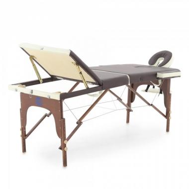 Массажный стол складной деревянный Мед-Мос JF-AY01 3-х секционный в Краснодаре