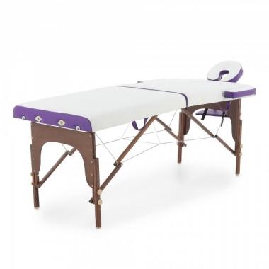 Массажный стол складной деревянный Мед-Мос JF-AY01  2-х секционный  в Краснодаре