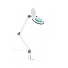 Лампа косметологическая бестеневая с лупой Атисмед-ЛЛ (на струбцине)