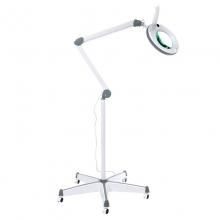 Лампа косметологическая бестеневая с лупой Атисмед-ЛЛ (на колёсах)