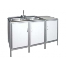 Лабораторный стол с мойкой СЛМ 3-01