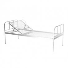 Кровать общебольничная с регулируемым подголовником МСК - 111
