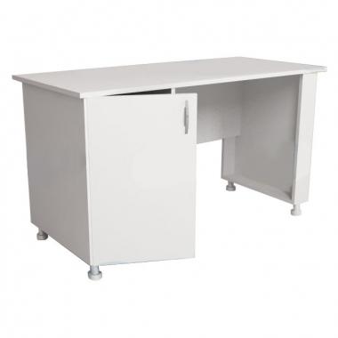 Стол для оснащения кабинета врача однотумбовый СМ-1-01.02 (на опорах) в Краснодаре