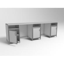 Стол лабораторный трёхтумбовый СЛ 3-03