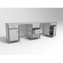 Стол лабораторный трёхтумбовый СЛ 3-01