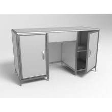 Стол лабораторный двухтумбовый СЛ 2-03