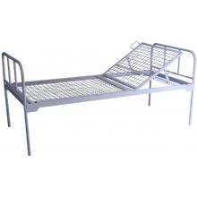 Кровать общебольничная с подголовником , без колес МСК-105