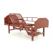 Кровать механическая Е-49 (MM-2120Н-10) ЛДСП  с туалетным устройством и функцией «кардиокресло»