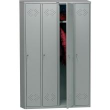 Медицинский шкаф для раздевалок ПРАКТИК МД LS(LE) 41