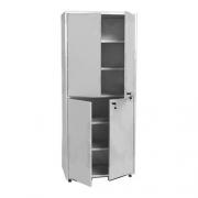 Шкаф металлический двухсекционный двухстворчатый МСК - 648.01