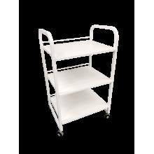 Стол-тележка К-3 белая