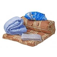 Комплект постельного белья  (Одеяло, матрац, подушка и комплект постельного белья)