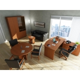 Офисная мебель для кабинета руководителя в Краснодаре.