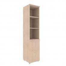 Шкаф колонка с глухой малой дверью и топом XHC 42.5(L/R)