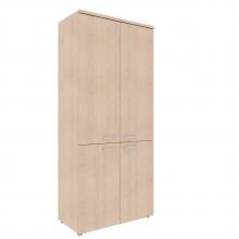 Шкаф с глухими средними и малыми дверьми XHC 85.3