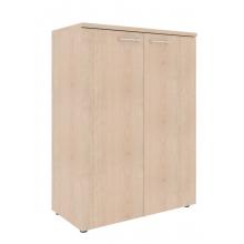 Шкаф с глухими малыми дверьми и топом XLC 85.1
