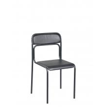 Кресла для посетителей ASCONA black