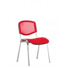 Кресла для посетителей ISO net chrome