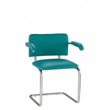Кресла для посетителей SYLWIA arm chrome