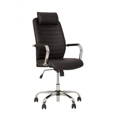 Кресло для руководителя BRUNO HR Tilt CHR68 c механизмом качания в Краснодаре